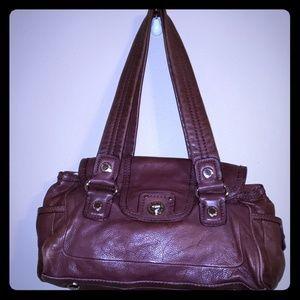 Marc Jacob handbag burgandy brown leather